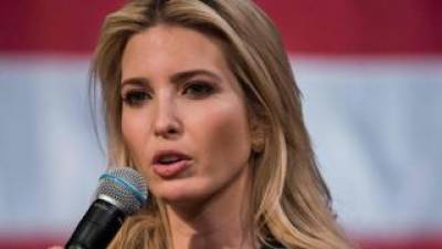 Ivanka Trump at odds with President Donald Trump