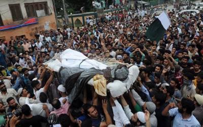 Indian troops martyr 5 Kashmiris in IOK