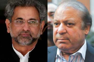 A treason case threat looms over Nawaz Sharif, Shahid Khaqan