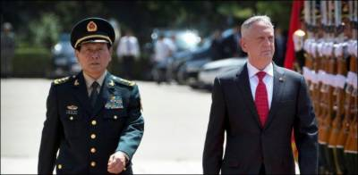 China delivers a strong message to US defence secretary