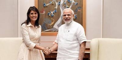 End dependence on Iranian oil, Nikki Haley tells India