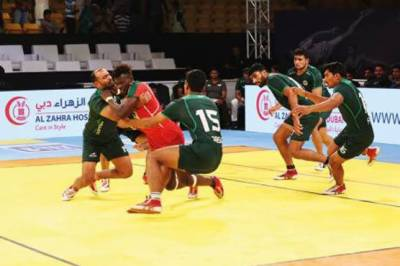 Pakistan squad bounces back in Kabbadi Masters Championship, qualifies for Semifinals