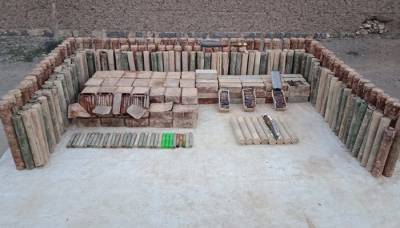 Security Forces recover huge cache of weapons in intelligence based operations