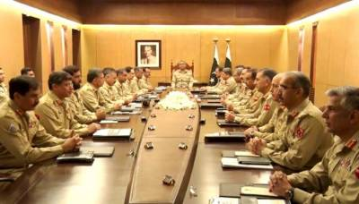 Top Army commanders discuss provision of assistance to ECP for conduct of general elections
