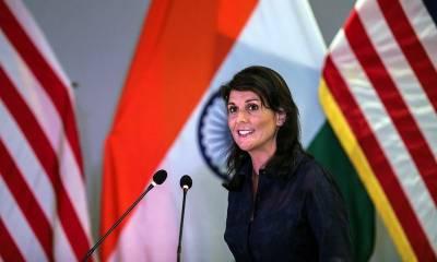 US Ambassador to UN Nikki Haley hits out at Pakistan