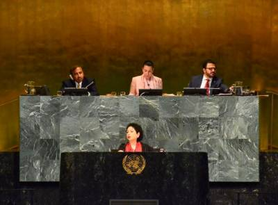 At UN, Pakistan decries double standards in implementing of int'l obligations to protect civilians