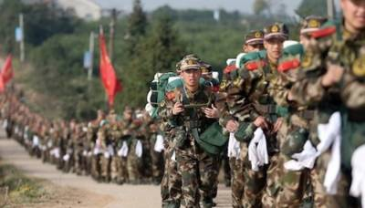 Chinese Military hold war games in Tibet