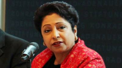 Dr Maleeha Lodhi hits out at international community over double standards