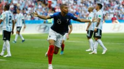 France sends Argentina packing home in knockout match