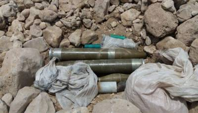 Huge quantity of explosives recovered by Security Forces: ISPR