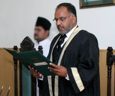 IHC Justice Shaukat Aziz Siddiqui in hot waters