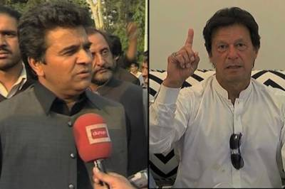 Imran Khan makes an offer to former PML N Minister Ghafoor Mayo