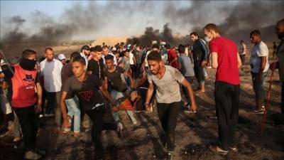 Israeli troops martyr two Palestinians in Gaza