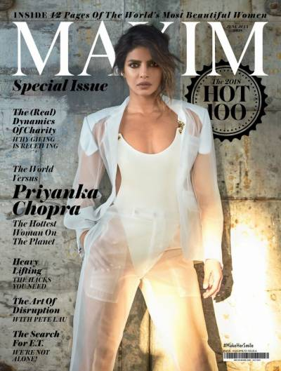 Priyanka Chopra named as