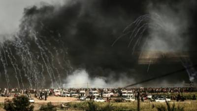 Two Gazans shot dead in Israel border clashes: ministry
