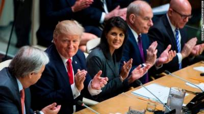 United States faces huge embarrassment at UN