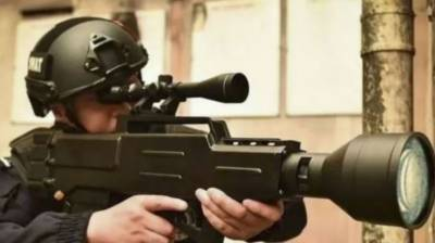 China develops Star War type gun for the first time in history