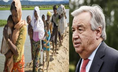 Guterres in Bangladesh to stress int'l community to do more for Rohingyan crisis