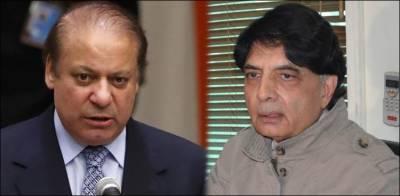 Nawaz Sharif breaks silence over Chaudhry Nisar's rhetoric