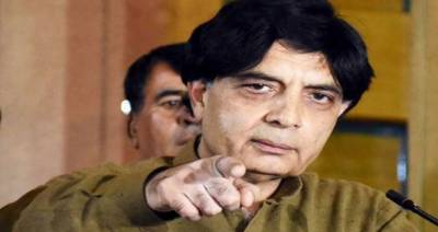 Nawaz showing enmity, not me: Chaudhry Nisar