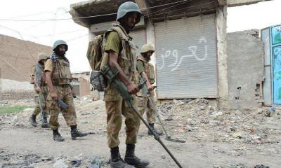 Security Forces recover weapons, ammunition from North Waziristan