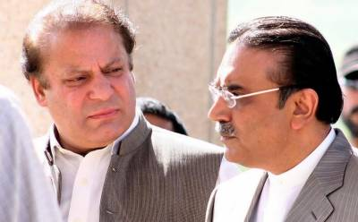 Was there a secret meeting between Asif Zardari and Nawaz Sharif?