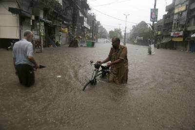 Death toll from heavy rains in Lahore rises drastically