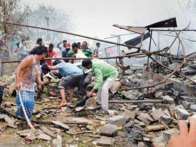 Explosion in India kills atleast 11 people