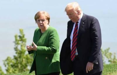 German Chancellor Angela Merkel issues warning to Donald Trump