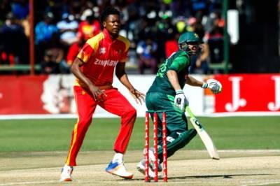 Pakistan beats Zimbabwe to reach final of triangular series
