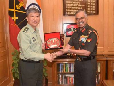Top Chinese Military Commander arrives in India