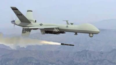 US drone strike kills top TTP leader along Pak Afghan border in Afghanistan