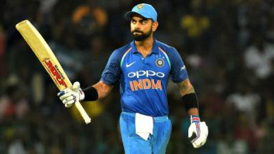 Virat Kohli makes history in T20 international cricket