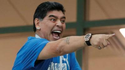 Diego Maradona in hot waters over controversial comments