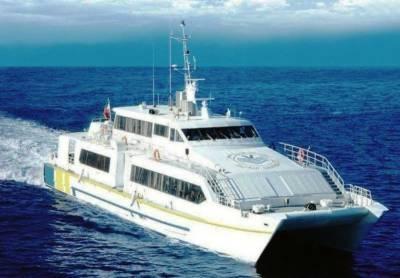 Why is Gwadar - Chabahar ferry service being delayed?