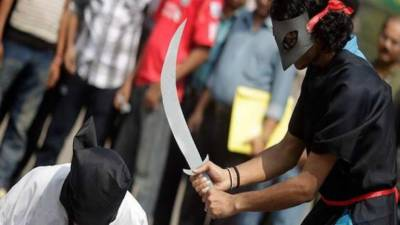 Two Pakistani executed and bodies crucified at public park in Saudi Arabia