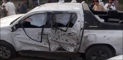 Bomb blast in Bannu, MMA leader hit