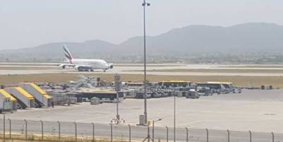 Largest passenger airplane lands at new Islamabad Int'l Airport