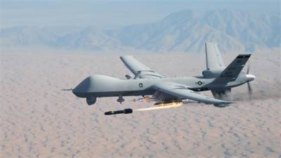 US drone strike at ISIS hideout in Afghanistan near Pakistan borders