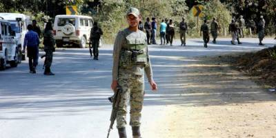 Indian Military patrol party ambushed, at least three killed and wounded
