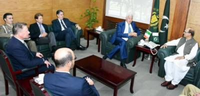 Pakistan Italy decide to enhance bilateral defence ties