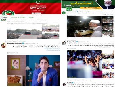 Political parties, independent candidates using social media for election campaign