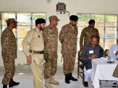 Armed Forces officers deployed at polling stations given magistrate powers: ECP