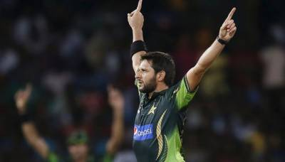 Afridi 'pledges' Rs1.5 million for Diamer-Bhasha, Mohmand dams fund