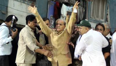 Odds in Shehbaz's favour for NA-249 as ANP, JUI-F rally behind him