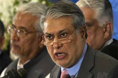 Former finance minister Ishaq Dar in hot waters