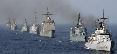 Pakistan Navy warship arrives in Saudi Arabia