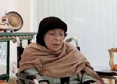 Shamim Akhtar, mother of Nawaz Sharif came forward in support of her son