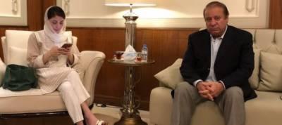 Nawaz, Maryam stopped over in Abu Dhabi on their way to Pakistan