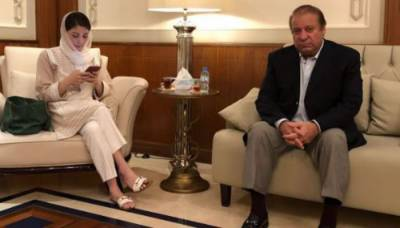 Nawaz Sharif, Maryam Nawaz board flight for Pakistan
